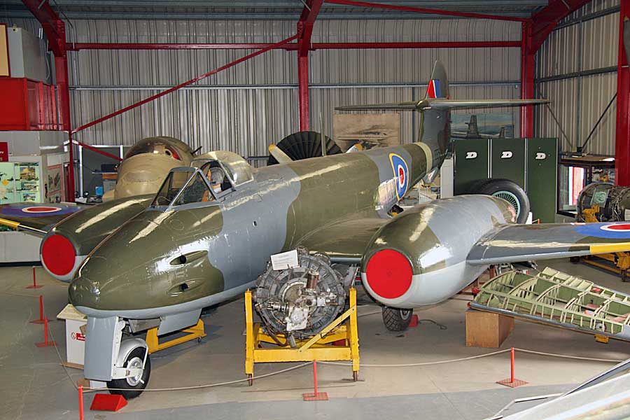 Gloster Meteor F.4 (EE531)