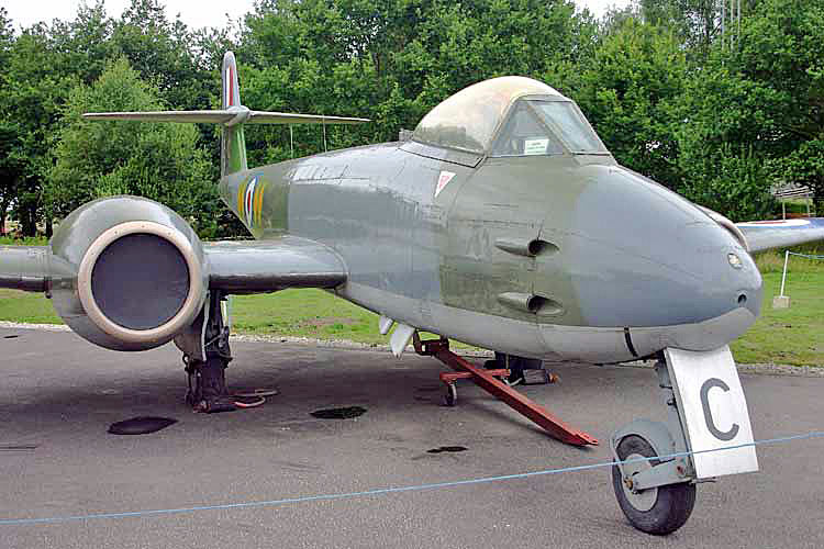 Gloster Meteor F.8 (WL168)